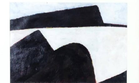 John Robinson's tribute to artist Colin McCahon's 'Untitled' painting sold in London as an original for NZ$13,000.