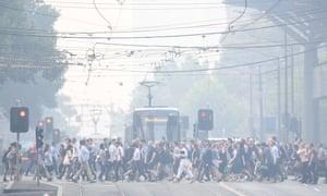 Smoke in Melbourne
