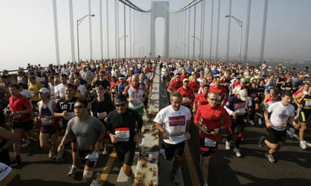 More than 50,000 people start the New York City Marathon every year