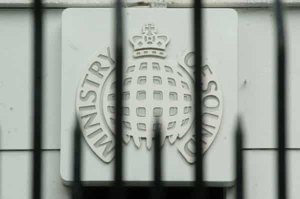 Ministry of Sound nightclub in Elephant and Castle, south London.