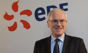Jean-Bernard Lévy, chief executive of EDF.