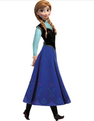 Kristen Bell is the voice of Anna in Frozen.