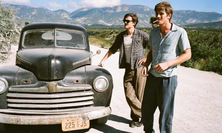 'Compelling, unaffected' ... Sam Riley as Sal Paradise/Jack Kerouac and Garrett Hedlund (right) as Dean Moriarty/Neal Cassady in the 2012 film of On The Road.