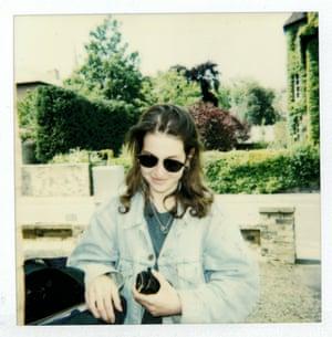 Hadley Freeman at school in 1996.