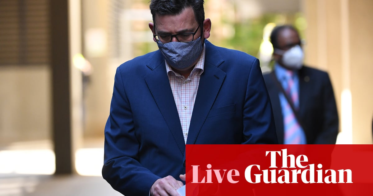 Australia Covid live news update: NSW outlines reopening plan as state records 787 cases, 12 deaths; Victoria 705 cases, one death