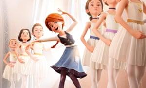 Escape to Paris: a scene from Ballerina.