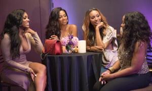 Porsha Williams, Kenya Moore, Cynthia Bailey and Phaedra Parks in The Real Housewives of Atlanta