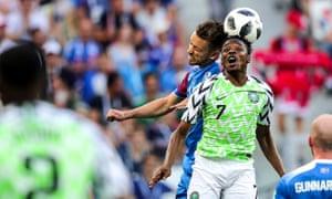 Nigeria's Ahmed Musa impressed against Iceland