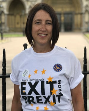Jane Dodds. Welsh Liberal Democrat candidate for Brecon and Radnorshire.