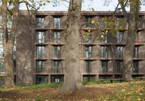 Classical-modernist synthesis … Chadwick Hall, designed by Henley Halebrown.