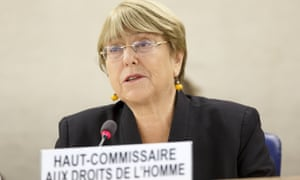 Michelle Bachelet: 'The fires currently raging across the rainforest may have catastrophic impact on humanity as a whole, but their worst effects are suffered by the women, men and children who live in these areas.'