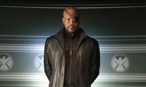 Samuel L Jackson's Nick Fury.