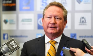 Australian billionaire Andrew Forrest believes the economics of the packaging industry can change.