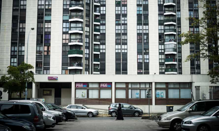 Ghetto effect: discontented workers priced out of the city move to estates like this one in Paris.