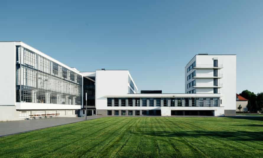 Walter Gropius's Bauhaus building in Dessau.
