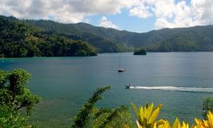 Pirate's Bay, Charlotteville, Tobago.