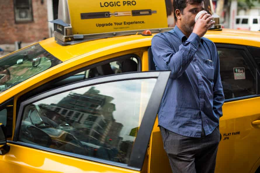 Yellow Cab driver MD Islam, 40, from Bangladesh, owes $830,000 on a mortgage for his medallion which is now worth much less.