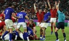 Rugby World Cup: Wales edge France and South Africa beat Japan – video highlights