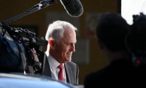 Malcolm Turnbull in western Sydney