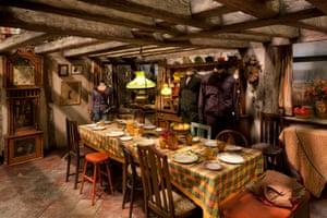 The Weasley's Kitchen.