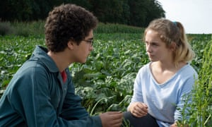 Idir Ben Addi and Victoria Bluck in Young Ahmed