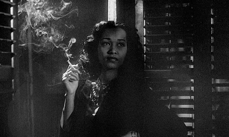 Francine Everett in Spencer Williams' 1946 film Dirty Gertie from Harlem.
