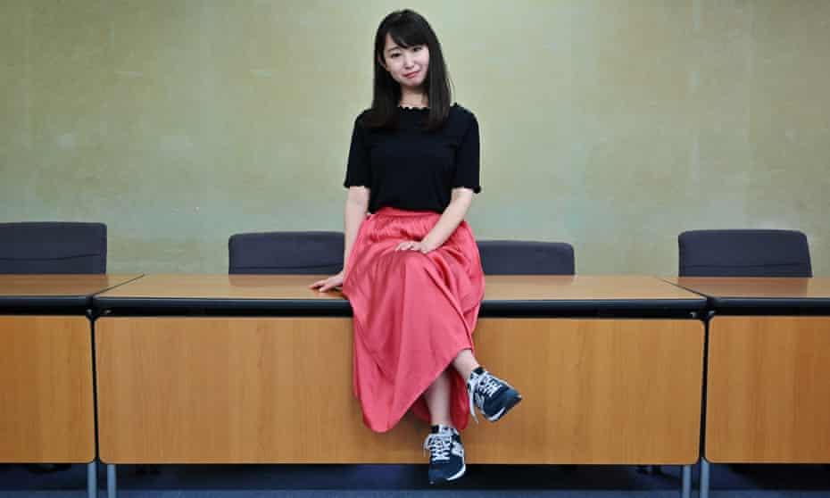 Yumi Ishikawa, the founder of the KuToo movement
