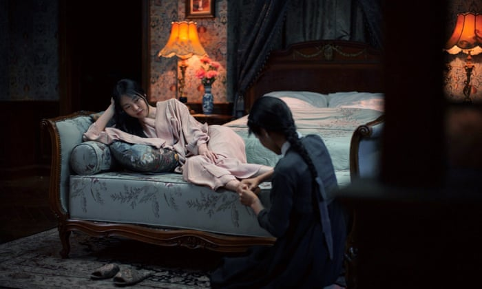 Sarah Waters: 'The Handmaiden turns pornography into a spectacle