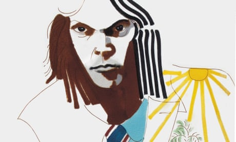 Turbulent indigos: glorious Joni Mitchell watercolours – in pictures