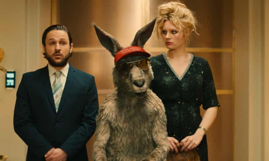 The Kangaroo Chronicles sees the furry politician take on a Trumpish adversary.