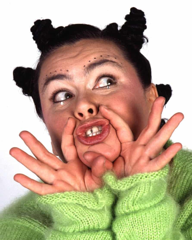 Dawn French as Björk.