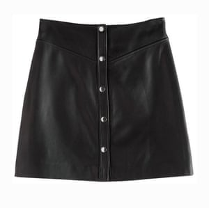 Editor's pick: the mini A-line is back Leather mini, £175, stories.com