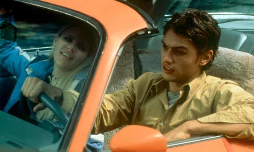 Busy Philipps and James Franco in Freaks and Geeks.