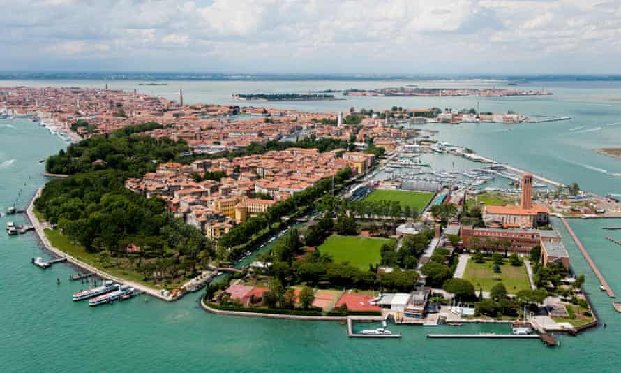 The Sant'Elena district of Venice, where Venezia FC play.