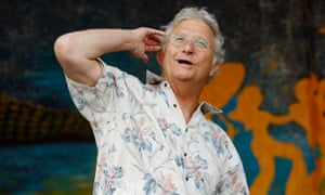 Political scientist... Randy Newman performing in 2008.