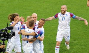 60% of Iceland's population watched these goal celebrations.