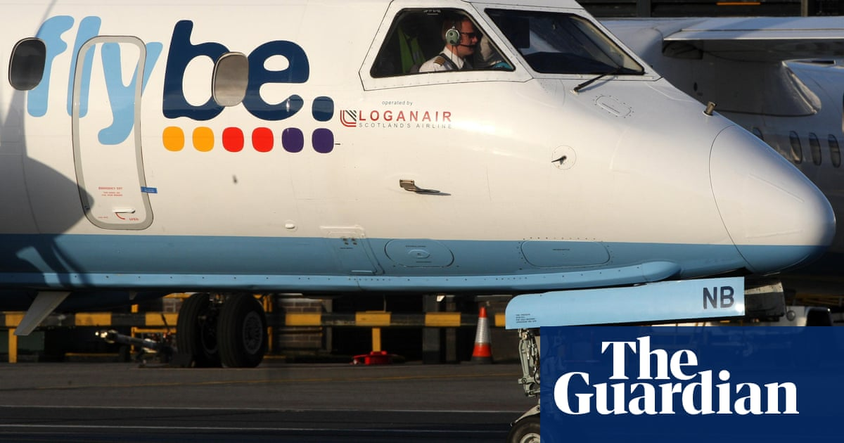 Flybe – buffeted by fuel prices and weak pound – goes up for