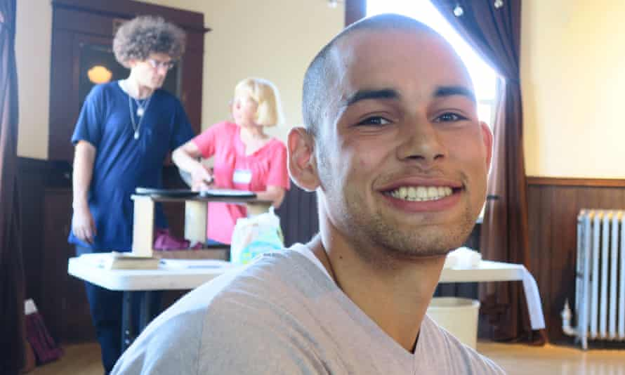 Jordan Visarraga applied to have his record expunged of a felony conviction for possession of marijuana.