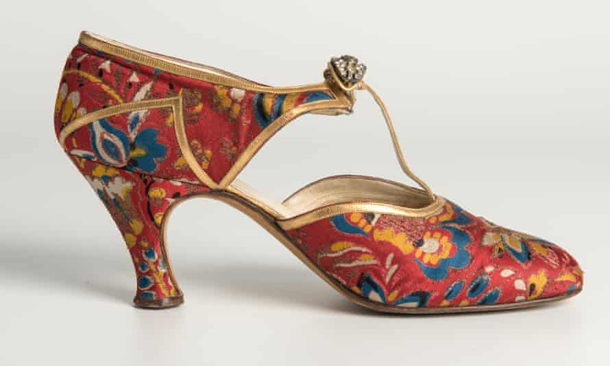A 1930s evening shoe by Hellstern & Sons