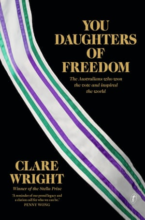 Cover image for You Daughters of Freedom by Clare Wright