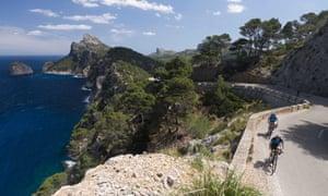 Cycling on Mallorca's Cap de Formentor