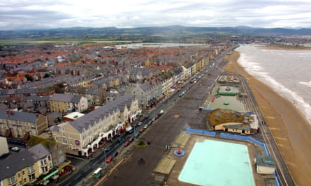 The west end of Rhyl.