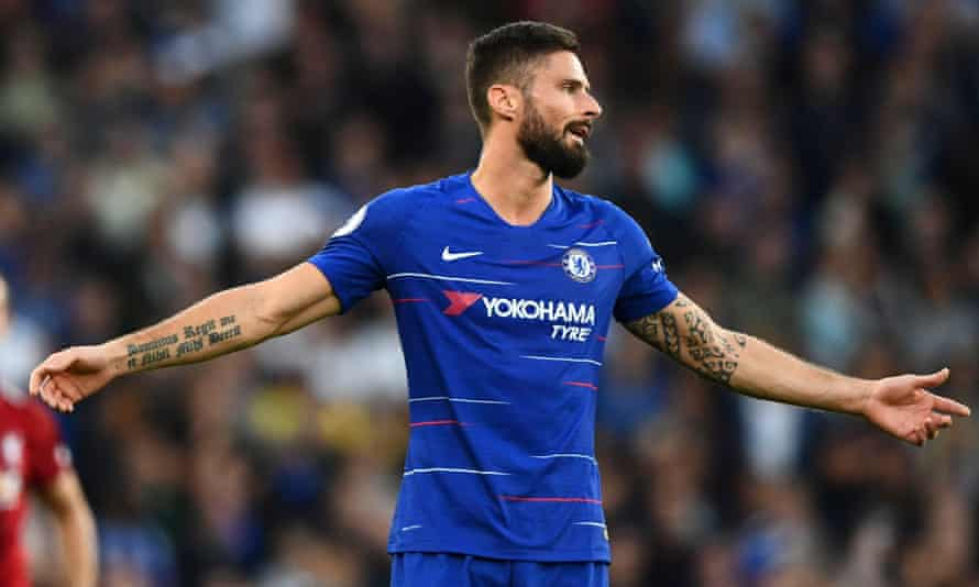Olivier Giroud is still finding goals hard to come by.