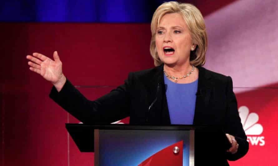 Hillary Clinton Democratic debate US election 2016