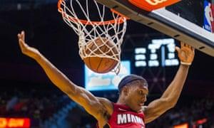 Miami Heat's Josh Richardson.