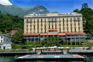 The Grand Hotel Tremezzo on Lake Como