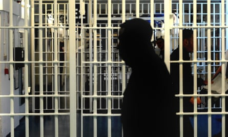 A prisoner in jail