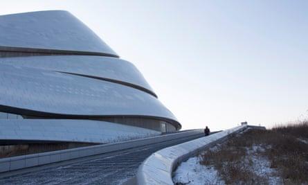 The Harbin opera house, designed by Ma Yansong.
