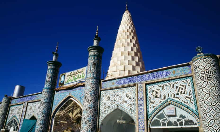 The tomb of prophet Daniel, Susa, Iran.