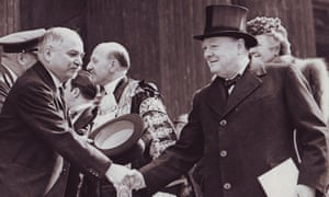 Ivan Maisky (left) with Winston Churchill